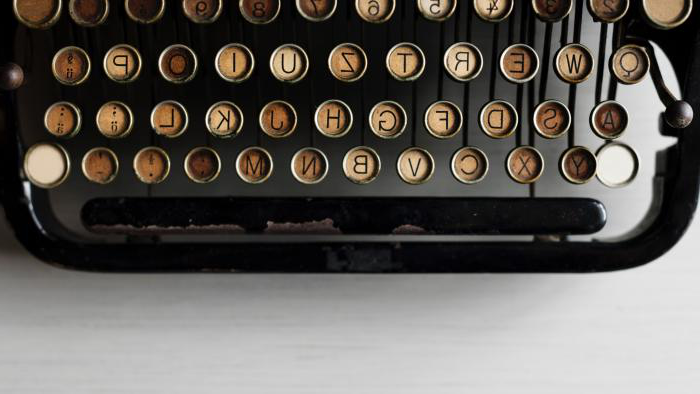 Typewriter keys, rawpixel