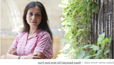 ndian writer Annie Zaidi. | Ritam Banerjee/The Nine Dots Prize