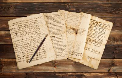 old manuscripts