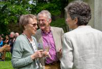 Benefactors' Reception attendees