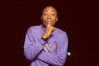 Man saying shhh!